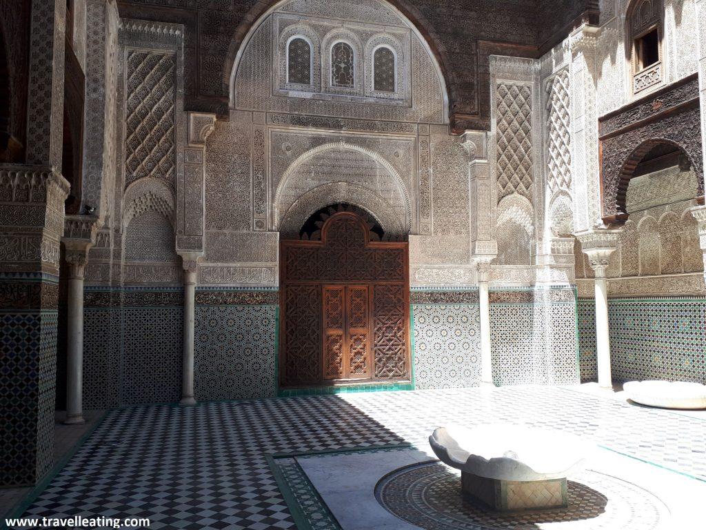Madrasa Al-Attarine, Fez.
