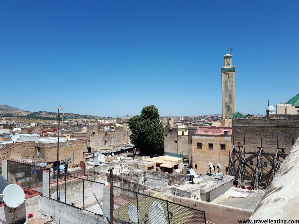 Vistas de Fez desde la azotea del Museo Nejjarine.