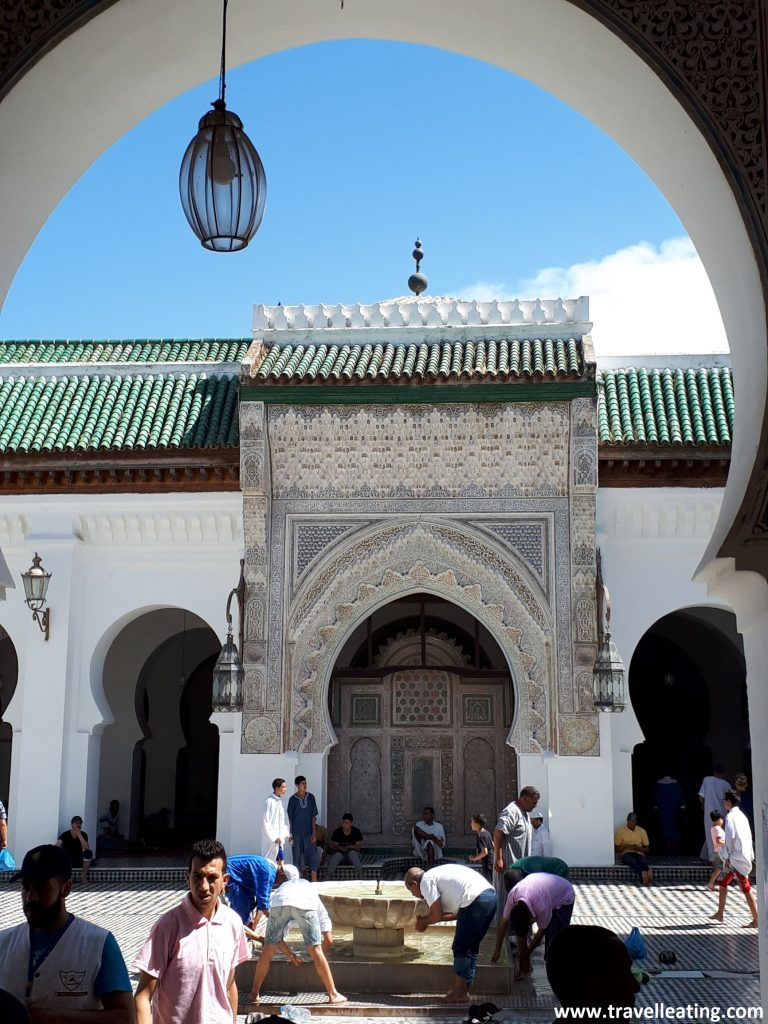 Mezquita Al Karaouine, en Fez.