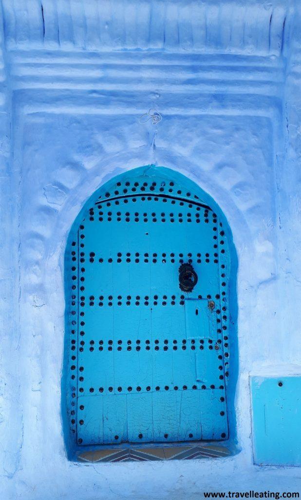 Puerta azul en Chefchaouen.