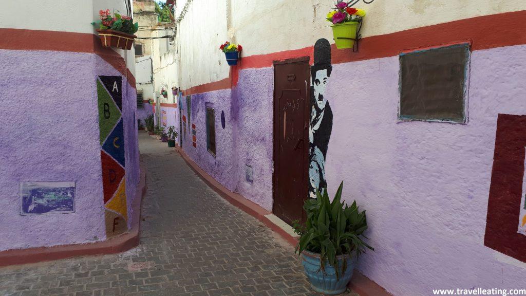 Barrio judío de Fez.