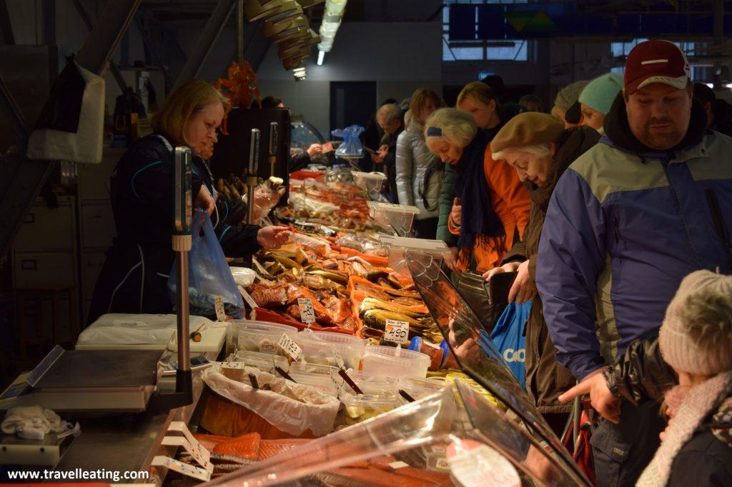 Mercado Central de Riga.
