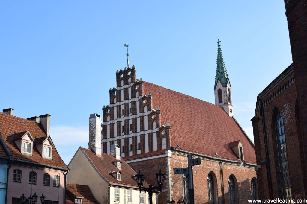 Casco histórico de Riga.