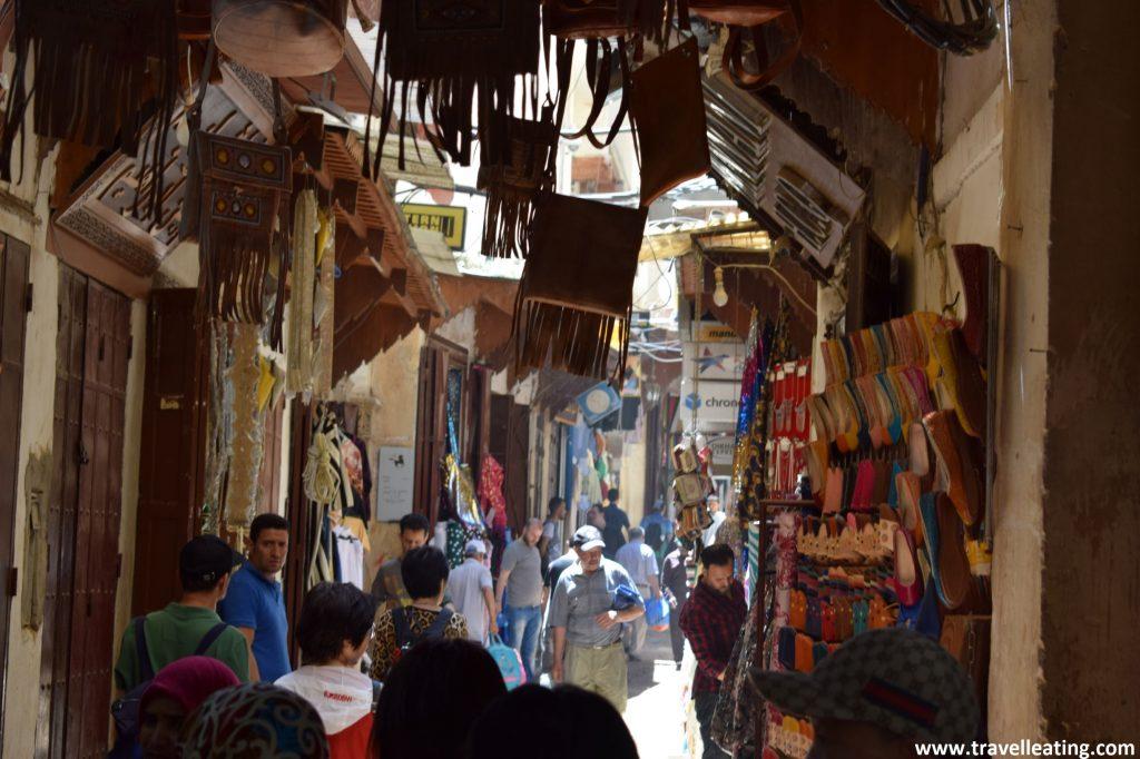 Callejuelas de la medina de Fez.