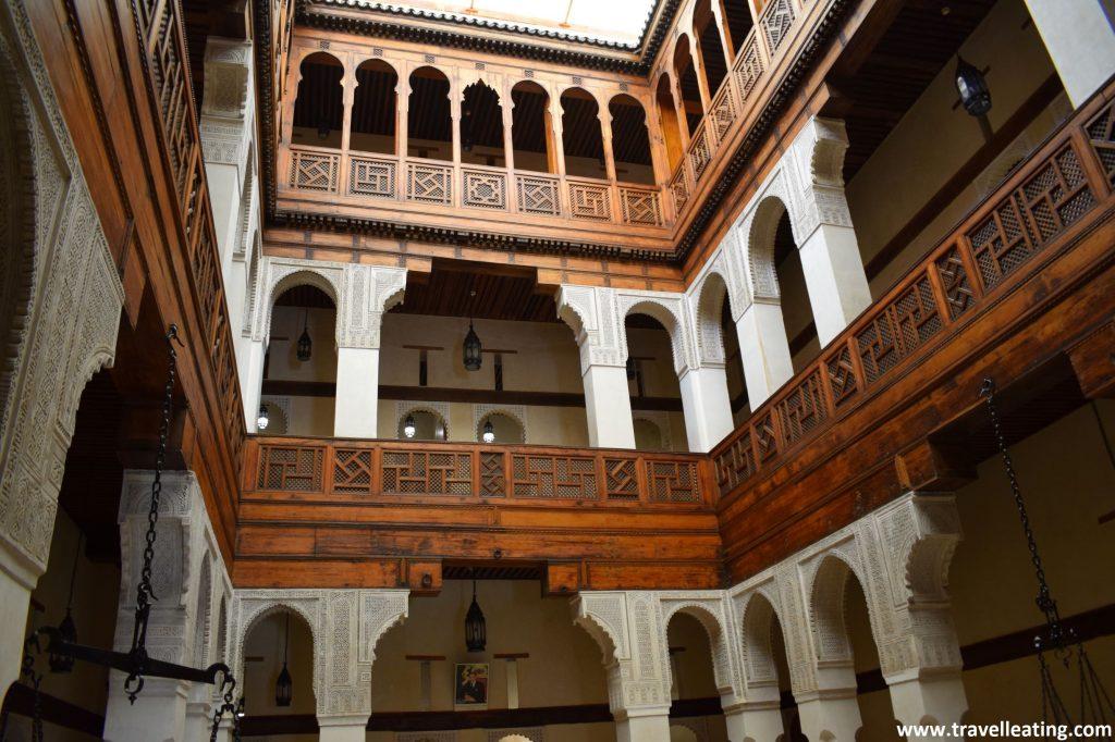 Museo Nejjarine el museo de la madera de Fez.