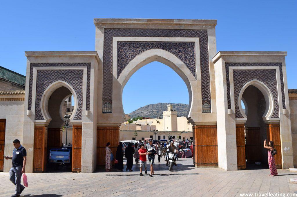 Bab Bou Jeloud, la Puerta Azul de Fez.