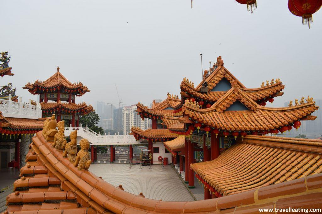 Templo Thean Hou desde arriba.
