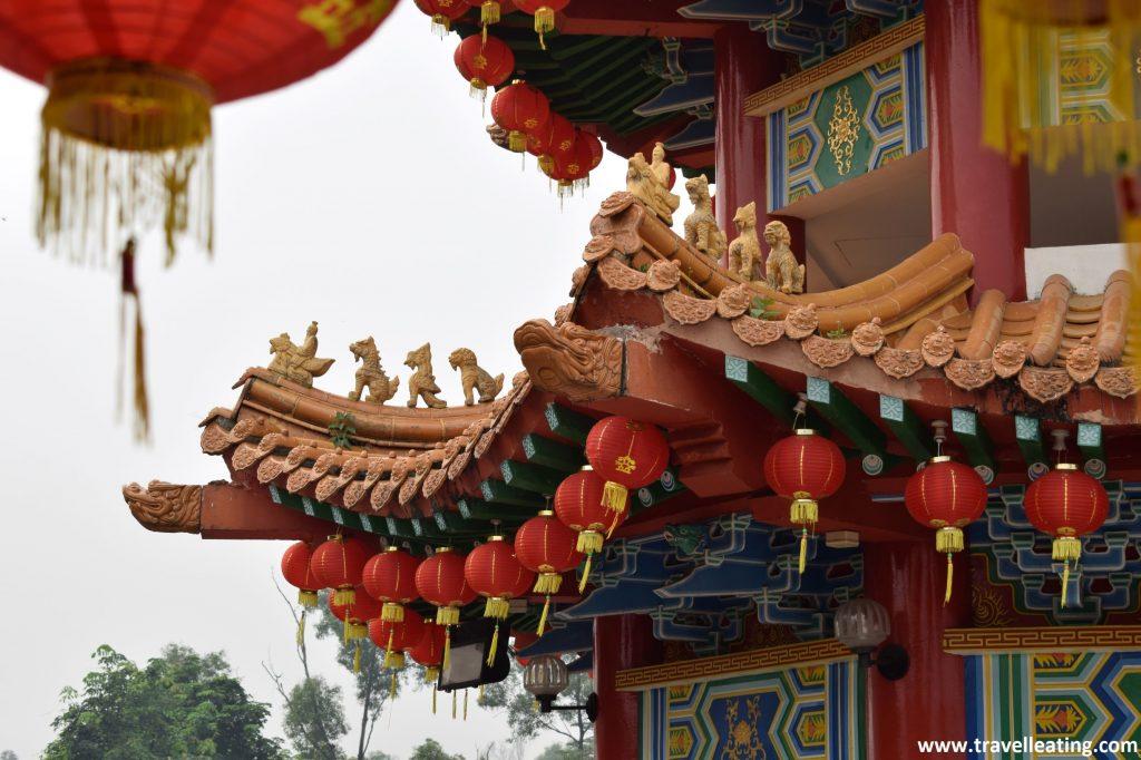 Farolillos del Templo Thean Hou.