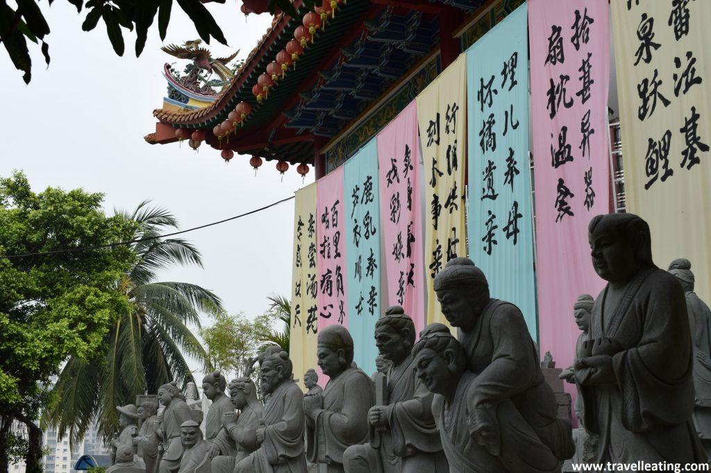 Estatuas del Templo Thean Hou.