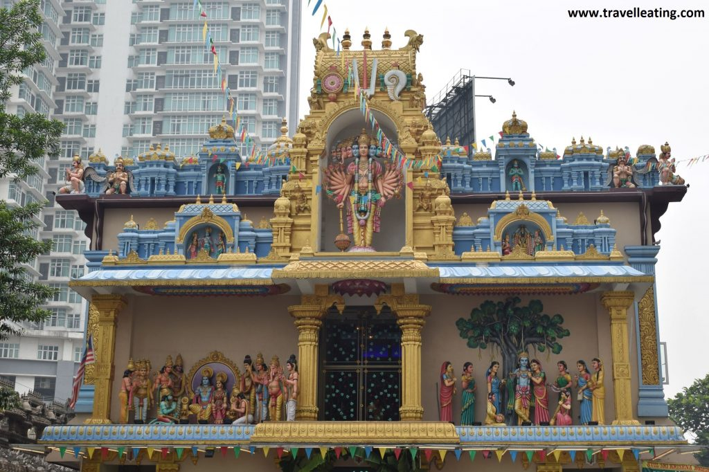 Templo hindú en Little India.
