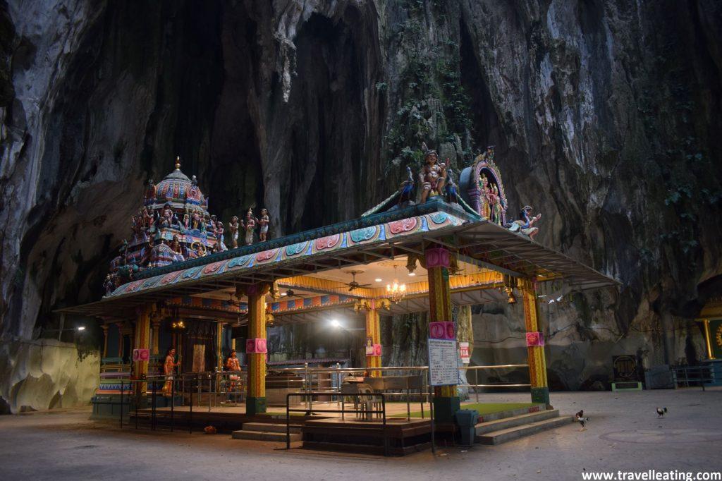 Interior de las cuevas.
