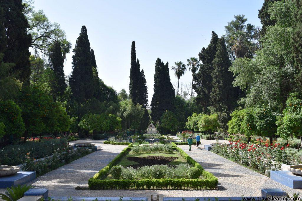 Jardines Jnan Sbil, en Fez.