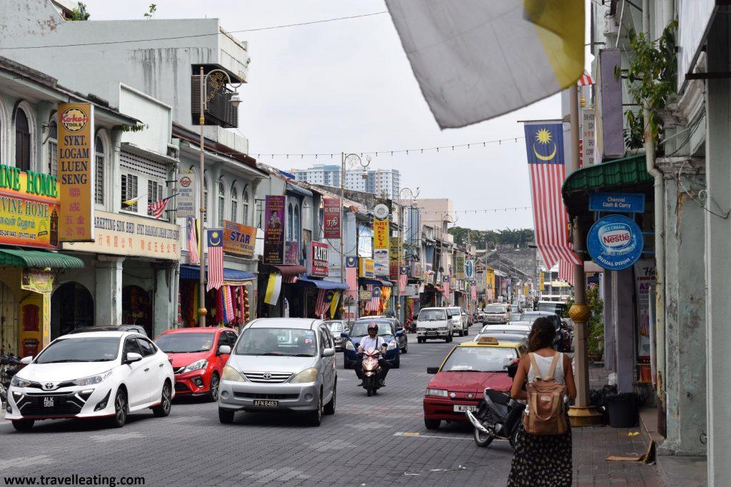 Las calles de Ipoh. Perak, Malasia.
