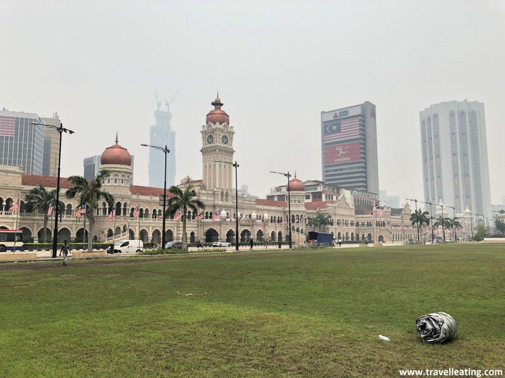 Palacio Sultan Abdul Samad en la Plaza Merdeka.