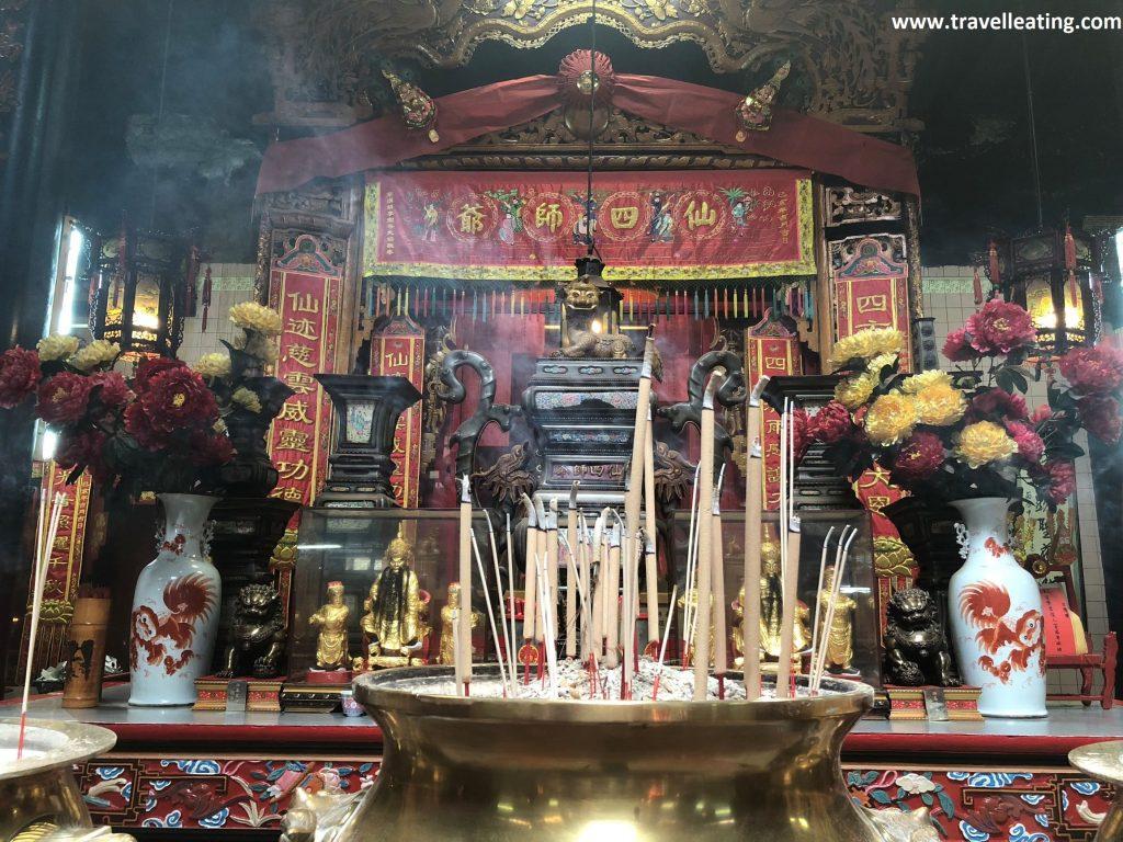 Interior del Templo Sin Sze Si Ya.