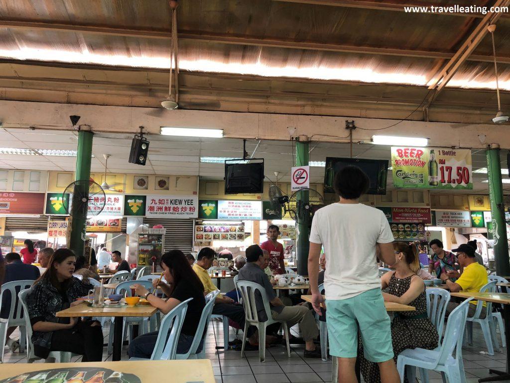 Tang City Food Court, en Chinatown de Kuala Lumpur.