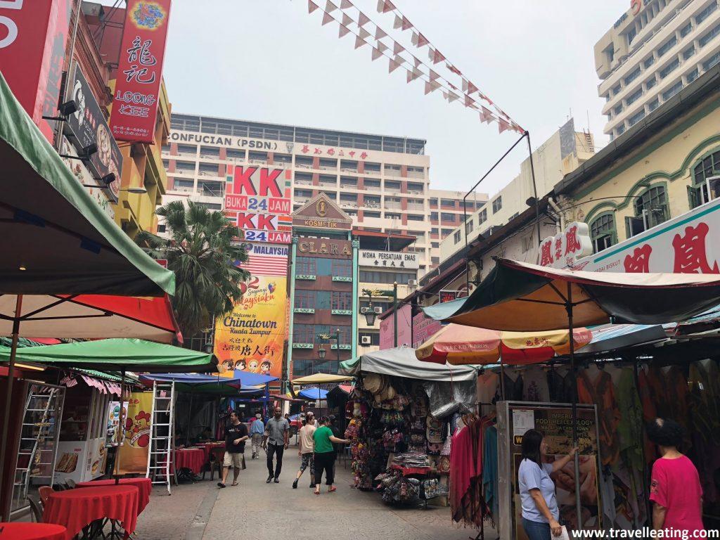 Chinatown de Kuala Lumpur.