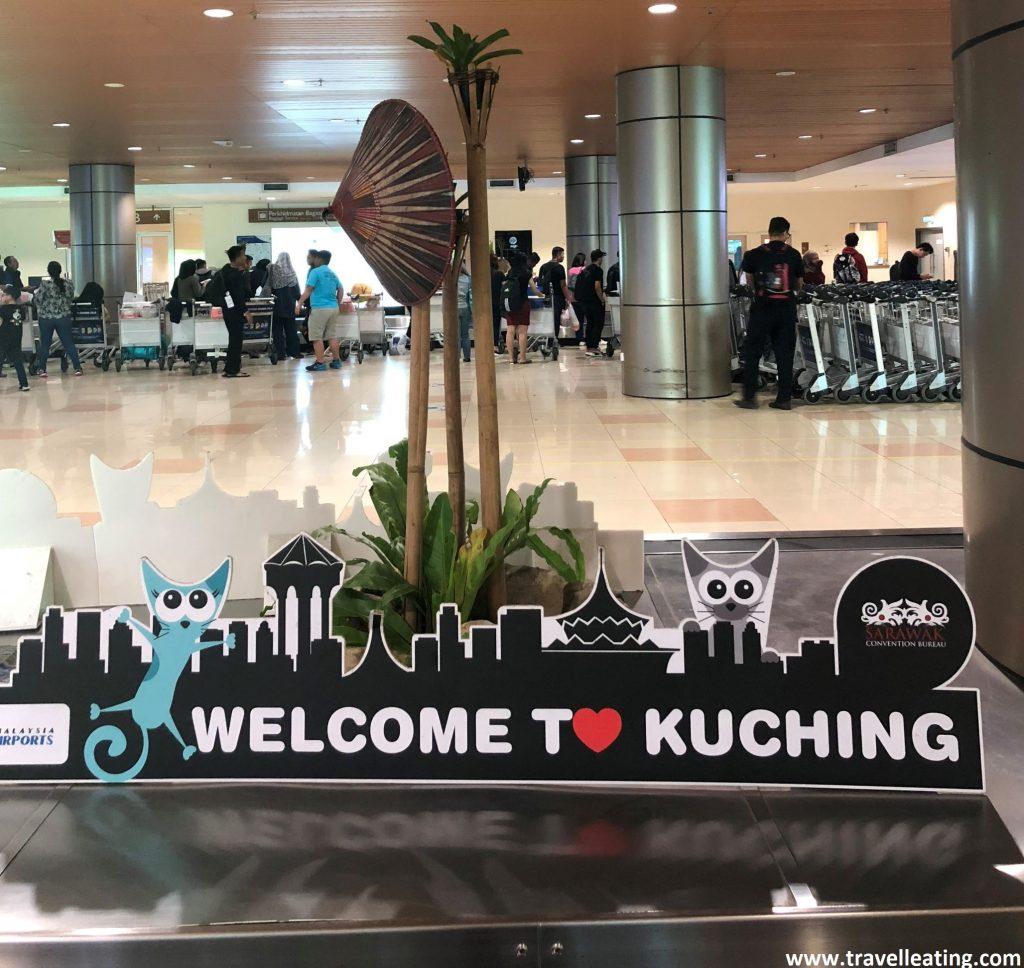 Aeropuerto de Kuching.