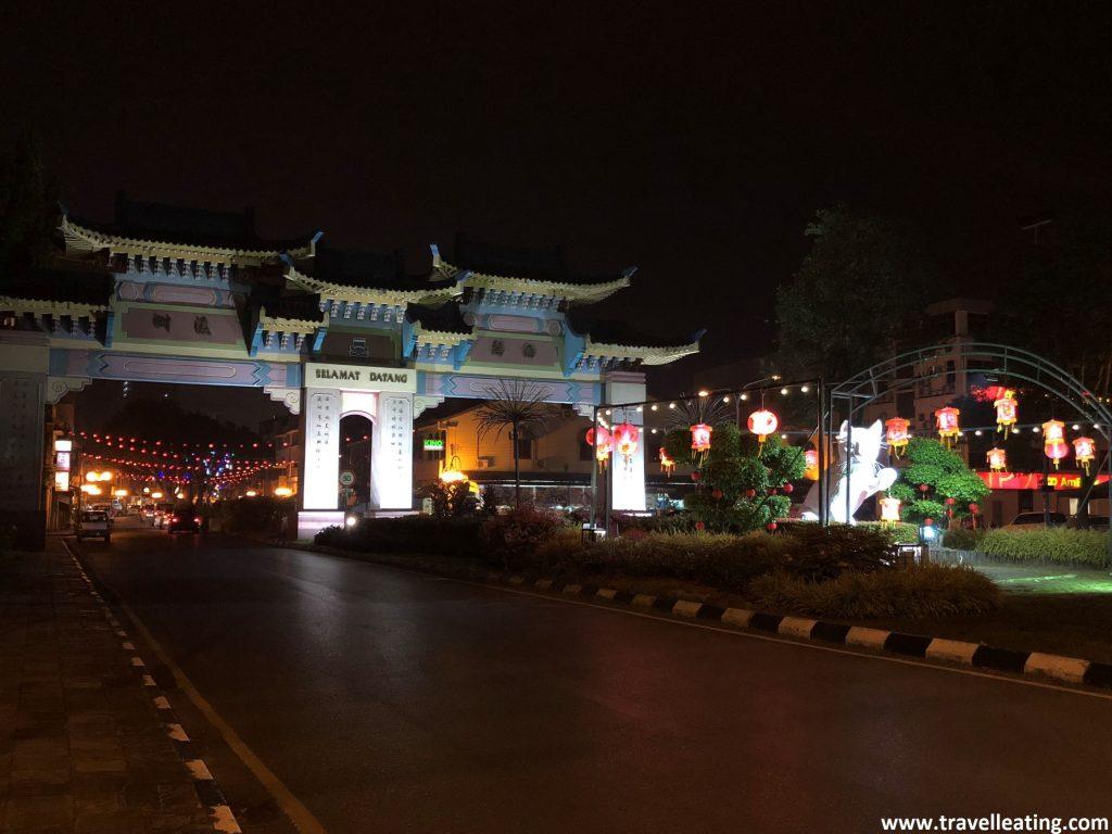 Chinatown, Kuching.