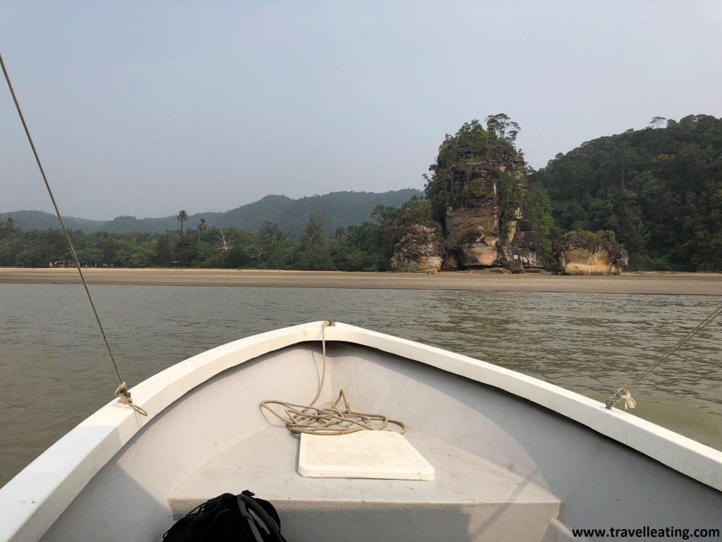 Llegando al Parque Nacional de Bako, Borneo (Malasia)