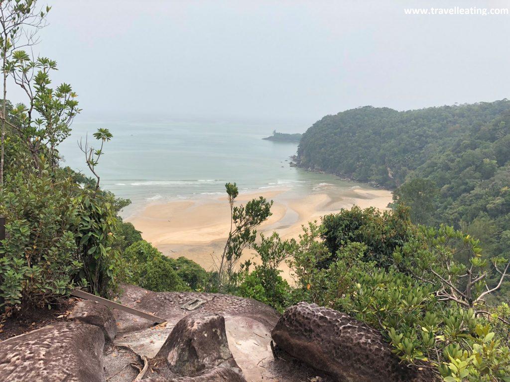 Teluk Pandan Besar. Parque Nacional de Bako, Borneo, Malasia.