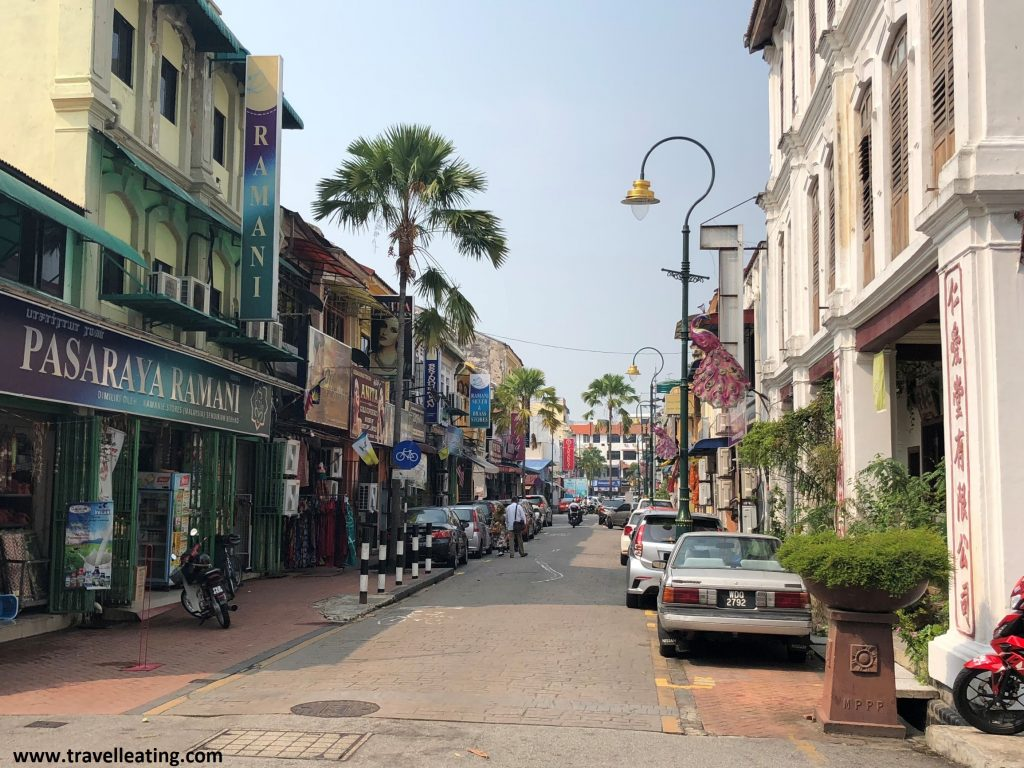 Calles de Little India. Georgetown, Penang.