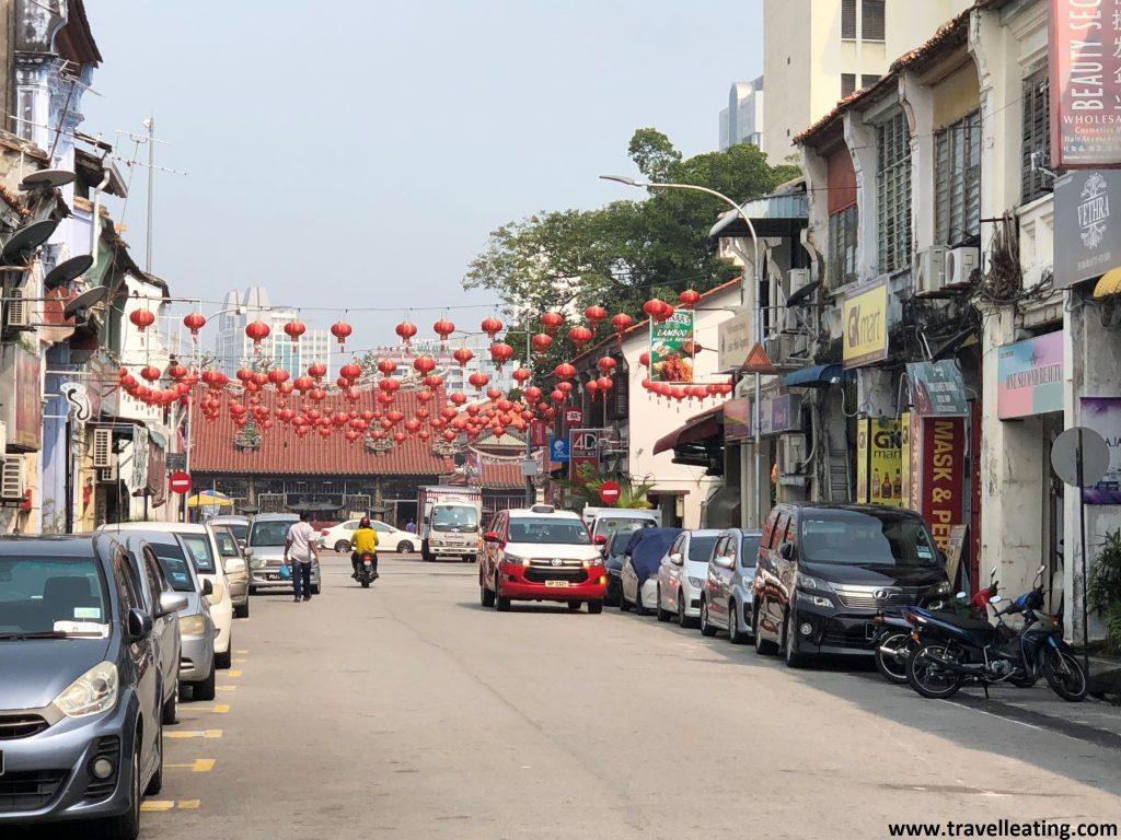 Calles de Chinatown, en Georgetown. Penang, Malasia.