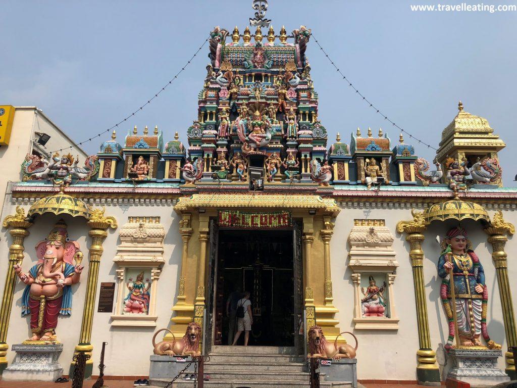 Templo Sri Maha Mariamman, el templo hindú más antiguo de Penang.