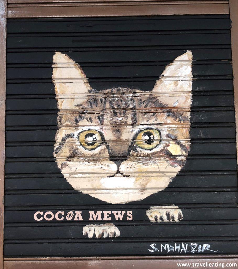 Entrada del Cocoa Mews Homestay, en Georgetown.
