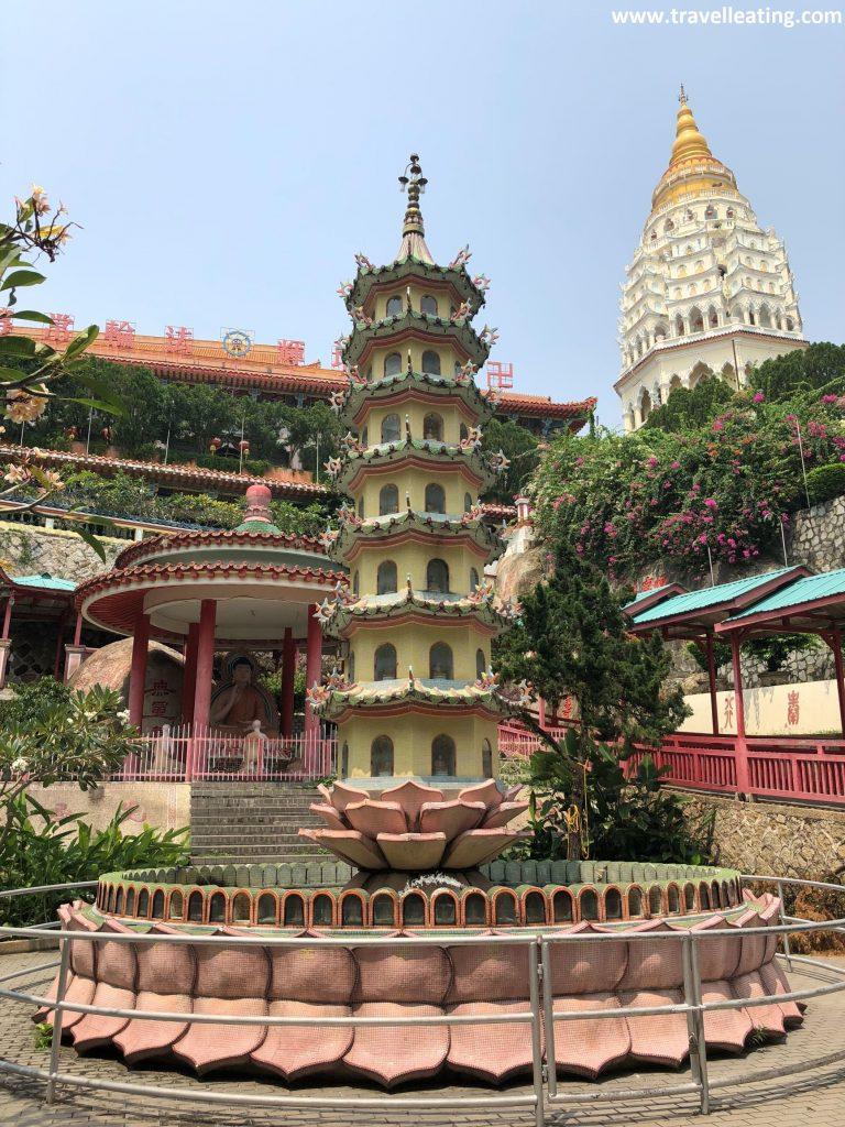 Templo Kek Lok Si, el templo de la felicidad suprema en Georgetown.