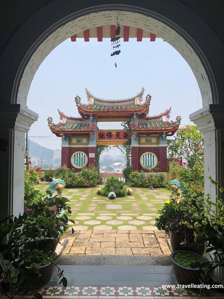 Templo Kek Lok Si, uno de los templos más bonitos de Malasia. Georgetown, Penang.