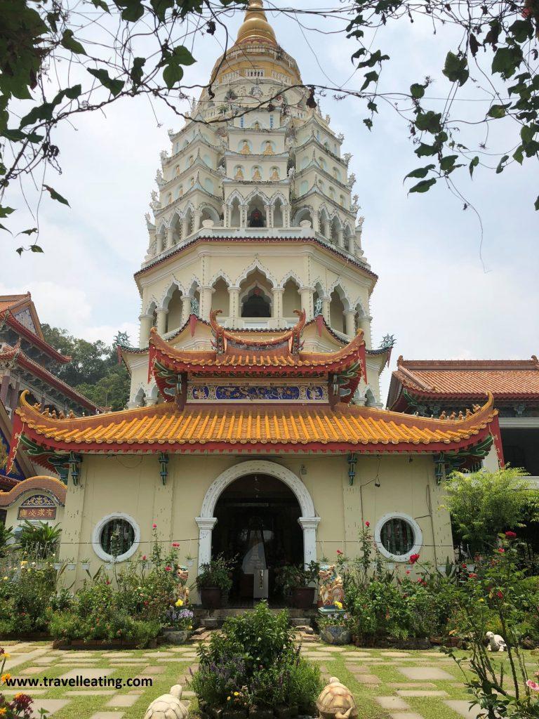 Pagoda de Los Mil Budas, del Kek Lok Si Temple, en Georgetown, Penang.
