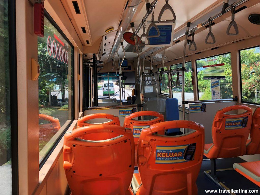 Autobús local de Georgetown, Penang.