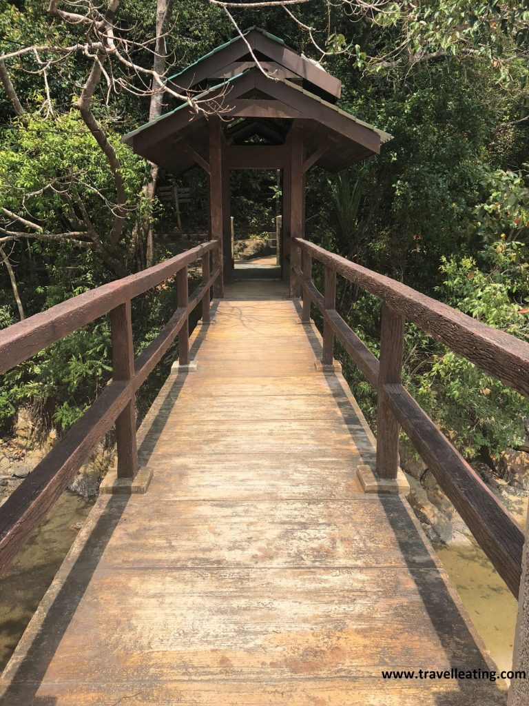 De camino a Monkey Beach, en el Parque Nacional de Penang.