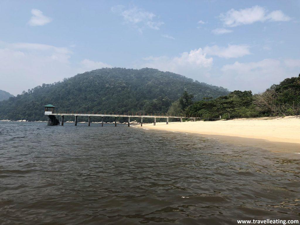 Turtle Beach. En el Parque Nacional de Penang.