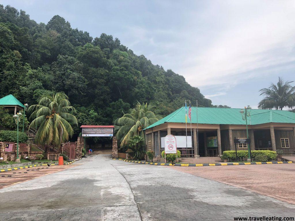 Entrada del Parque Nacional de Penang.