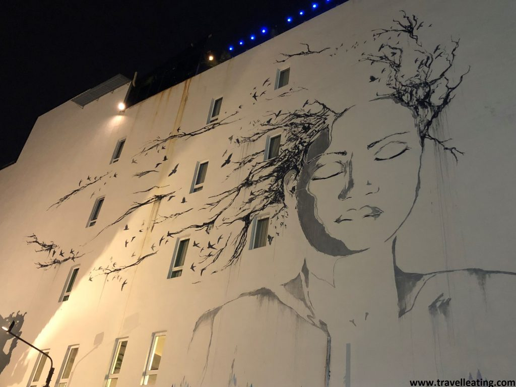 Arte urbano en Georgetown.