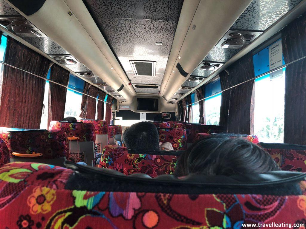 Autobús de Penang a Ipoh.
