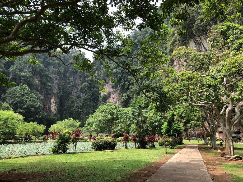 Jardín del Templo Kek Look Tong. Ipoh.