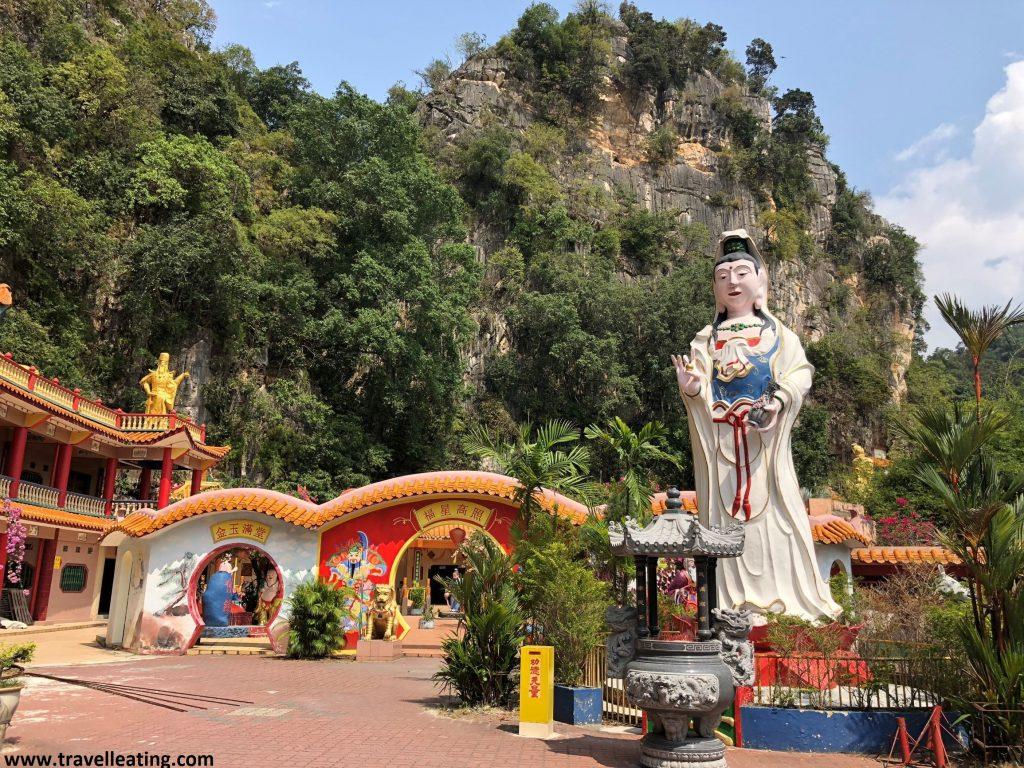 Templo Ling Seng Tong, en Ipoh.