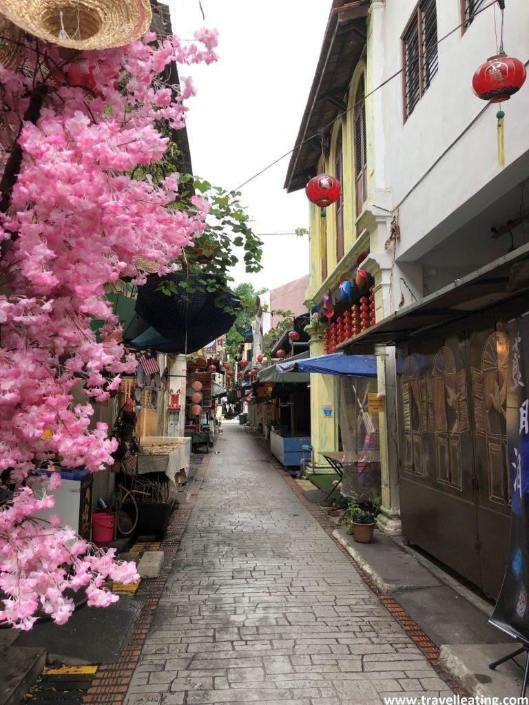Calles del centro histórico de Ipoh.