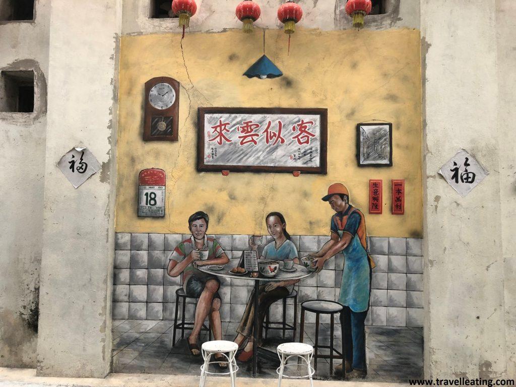 La historia de Ipoh contada en las calles. Arte urbano, Ipoh.