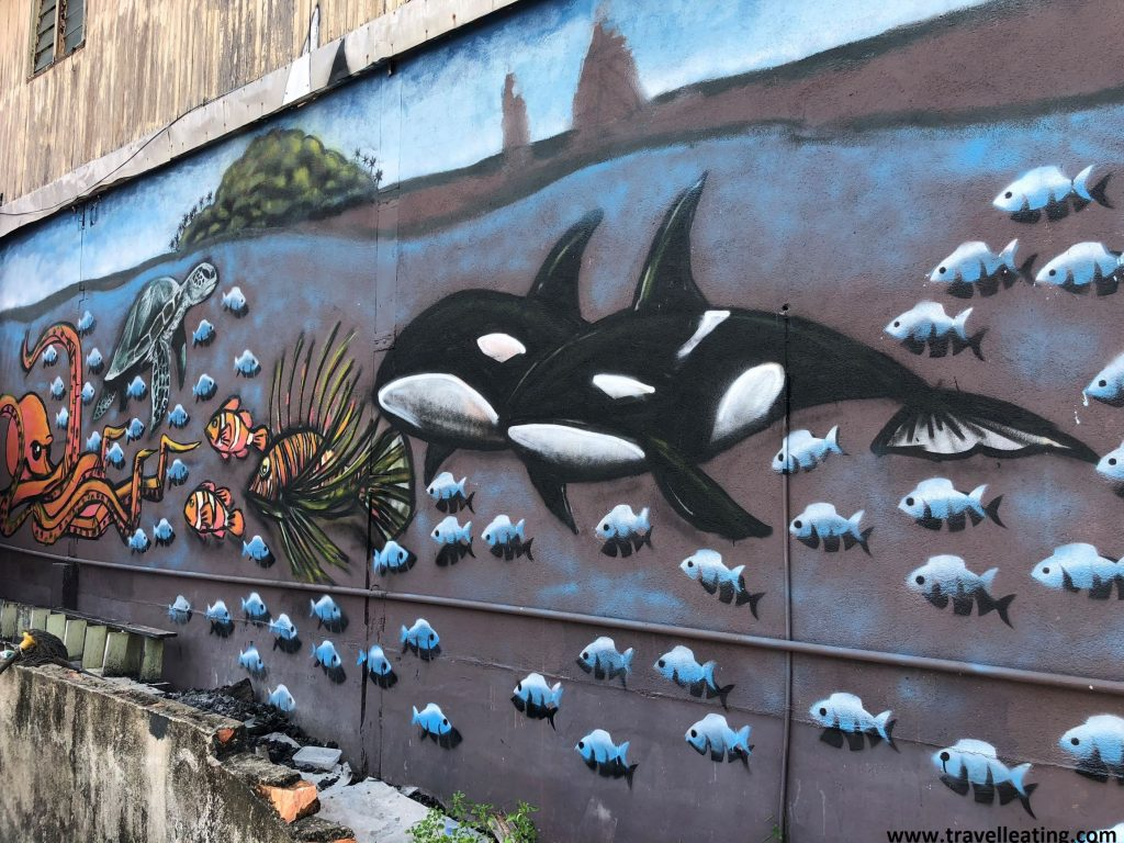 Street art en Kuala Besut.