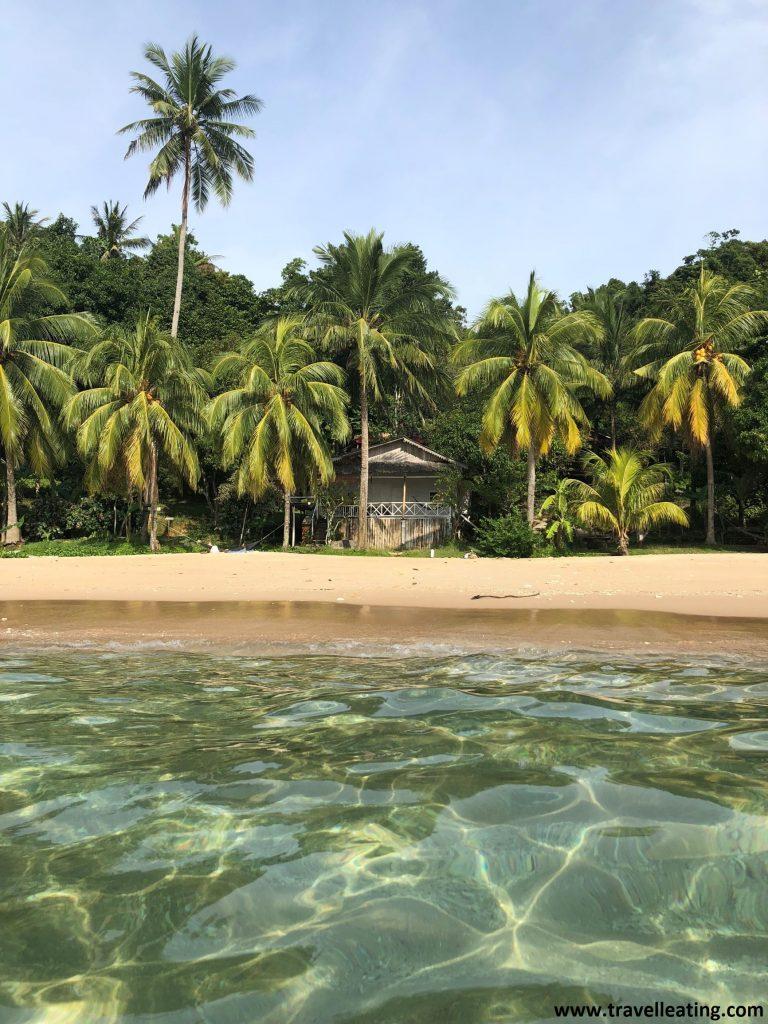 Mira Beach, una de nuestras playas preferidas de Perhentian Kecil.