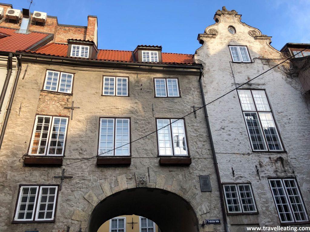 Puerta Sueca, los pocos restos que quedan de la muralla de Riga.
