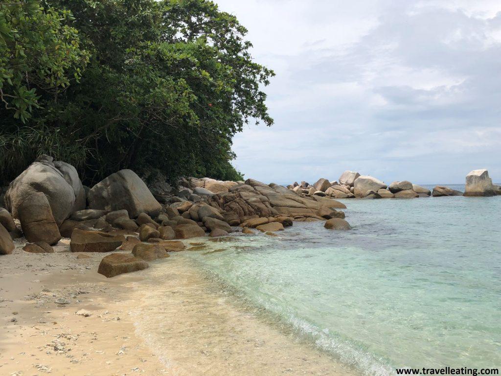 Adan&Eve Beach, una de las playas más vírgenes de Perhentian Kecil.