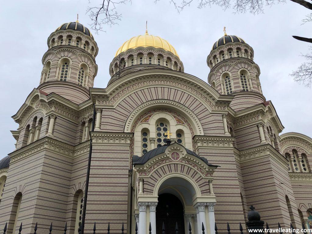 Catedral de la Natividad de Riga.