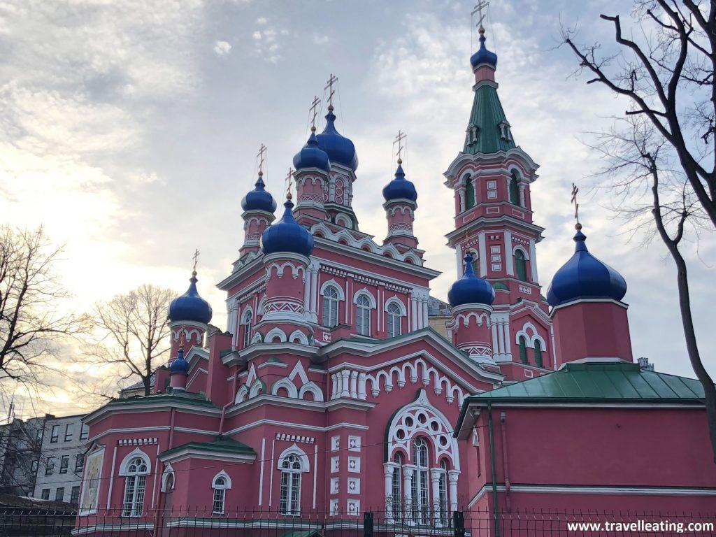Iglesia ortodoxa de la Santísima Trinidad de Riga.