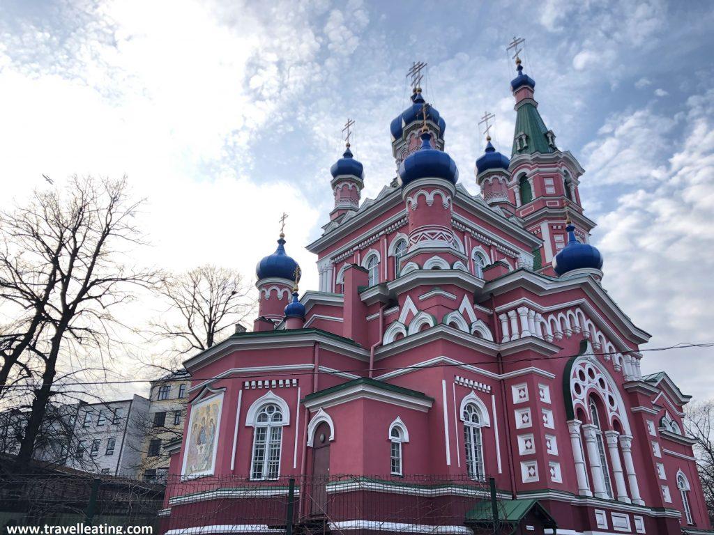 Iglesia de la Santísima Trinidad de Riga.