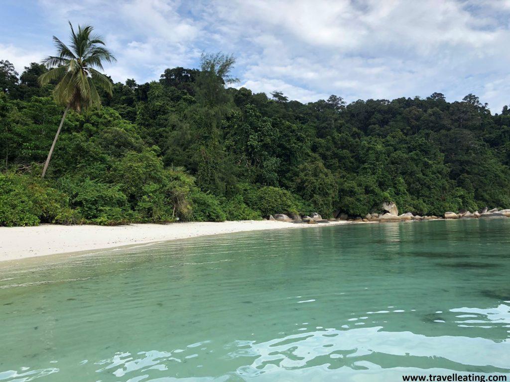 Segunda playa de KK Beach, en Perhentian Besar.